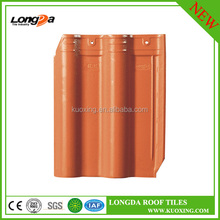 Interlocking color ceramic roof tiles price in china