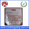 Portable zip lock plastic fruit bag with air holes