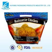 biodegradable ziplock resealable fried chicken bag