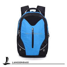 Blue laptop backpack 17.3 cheap solar backpack waterproof case for laptop