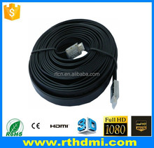 HDMI cable with gold plated high speed support 2.0v 2160p