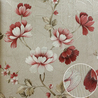 Latest design deep embossing 3d wall paper wallpaper for wall