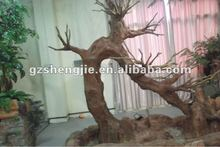 strange shape Artificial ficus tree Artificial dry strunk with no leaves trees manmade tree can design clad the column