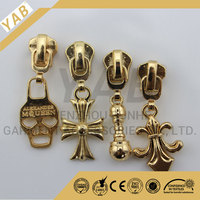 Fancy customized metal zipper slider and puller