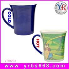 Wholesale High Quality Color Changing Ceramic Mug For Interesting Cartoon Artwork Design