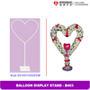 Party Decoration Wedding Heart Balloon Stand B403
