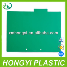 New item coloured PVC binder sheet/ Inner protector page