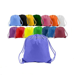 colorful fashion shopping tote bag promotion drawstring bag