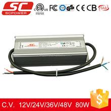 KV-24080-TD 24V 80W dimmable LED strip drivers