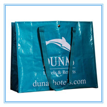 PP Woven Bags China, Customized PP Nonwoven Shopping Bag, Picture Printed Non Woven Shopping Bag