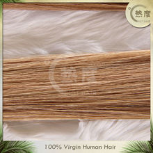 keratin pre-bonded fusion light color I tip hair /v tipped hair extension/u tipped hair extension