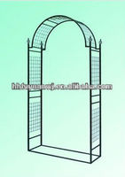 high quality and competitive price stainless steel garden arch with bench for sale