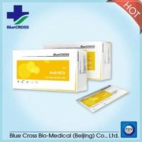 Medical Diagnostic Test Strips Rapid Anti-HCV Elisa Rapid Test Kits With CE