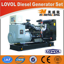 Diesel engine generator set genset CE ISO approved factory direct supply 100kva diesel generator fuel consumption per hour