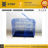 Hot Sale Painting Colorful Economical Pet Dog Cage With Wheels from alibaba china supplier