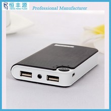 2015 manufacturer for LED mobile phone battery charger power bank