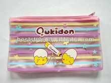 2013 Office School Clear PVC Pencil Pouch For Kids