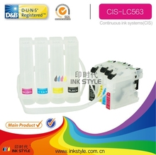 Zhuhai Wholesale ciss with chip lc569 for Brother DCP J552DW