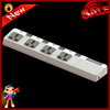 Electrical power consumption socket extension cord multiple socket