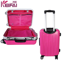 Rose Eminent Trolley Verage Suitcase With Wheel Luggage