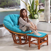 Comfortable Design Bamboo Rattan Cane Wood Bedroom Living Room Relax Chair