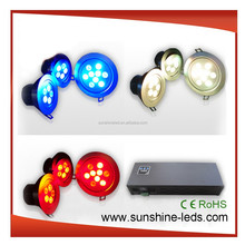 CE ROHS UL SAA TUV approved 27W remote dmx RGB LED downlight