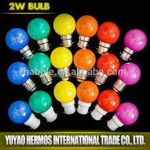 Wholesale many fashion cute 1W led changing color lamp
