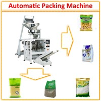 Plastic Bag Dried Fruits and Nuts Packing Machine