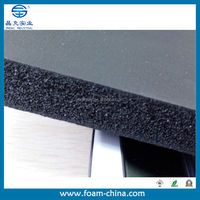 2015 hot sale customized size,density,color high density insulation nbr foam rubber