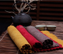[Best Price Hot sale]bamboo jacquard tea towel bamboo fabric square tea towel