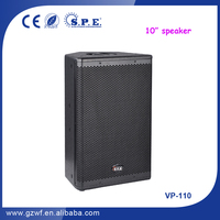 SPE Audio 10 inch Small Thin Speakers/Cute Portable Speaker/Speaker with Woofer VP-110