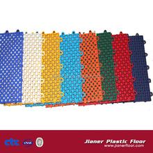 new fashion pp interlocking floor tiles for futsal/ basketball/ badminton/ tennis/ volleyball court