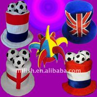 MH-0553 party soccer team supporter cheering fun hat/ football fans hat