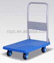 plastic platform hand truck, plastic foldable trolley