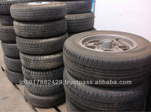 Used Container Load Used Tires in Japan Various Types of Tire Available