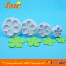 Supplier in China sugarcraft rose fondant plunger cutters for cake decorating