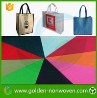 [Non-woven Factory ] colorful pp non woven cloth/tnt nonwoven fabric for bag making material