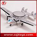 Venta caliente 2ch rc avión awacs falcon e-2 chorro jet modelo del motor de avión