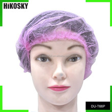 HIKOSKY DU-T66P disposable PP nonwoven tan sprayer used hair nets /cap