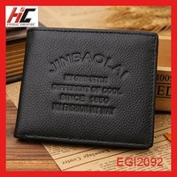 wholesale clutch purses leather wallets for men personalized fashion classic men wallet with coin packaging