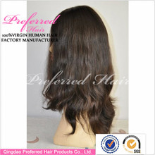 wholesale high quality unprocessed human hair full lace wig virgin malaysian human hair wig with bleached knots