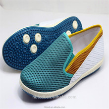 2015 casual style fashion CONTRAST COLOR shoes for men with fabric sole and ventilate surface