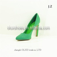 YX10 women ladies evening sexy high heels dress leather sole shoes