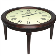 antique wooden table clock