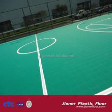 International Standard pp interlocking floor for basketball court