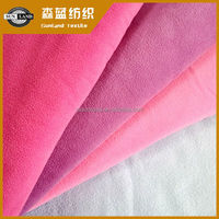 100% polyester solid polar fleece for garments
