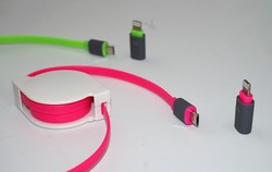 Extension micro USB data cable, 5pin micro USB cable for Iphone samsung