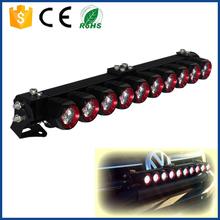 voltaje 24v ce y certificación de rohs spot de bricolaje deinundación de la vigaip68 auto led de luz de conducción de la barra