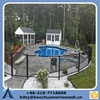 safe and beautiful than powder coated steel child safety swimming pool fence