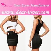 2014 xxx Contrast-colored Mesh mini dress men women sexy picture